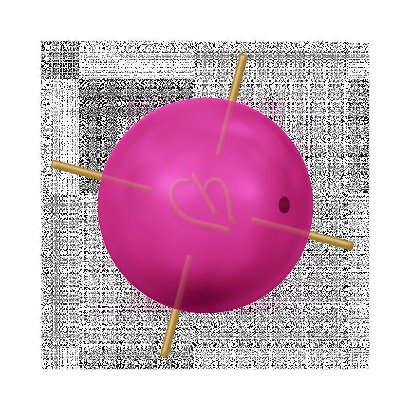 Neon Pink Pearl Swarovski 8mm - NPPRL