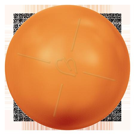 Neon Orange Pearl Swarovski 8mm - NOPRL