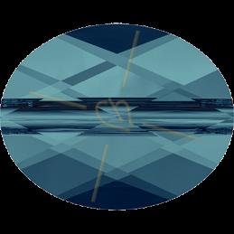 Swarovski Mini Oval Bead 8*6mm - Indicolite
