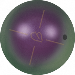 Iridescent Purple Pearl 943 Swarovski 4mm