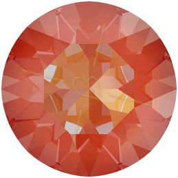 oorbellen staal trendy rond met ketting rose gold