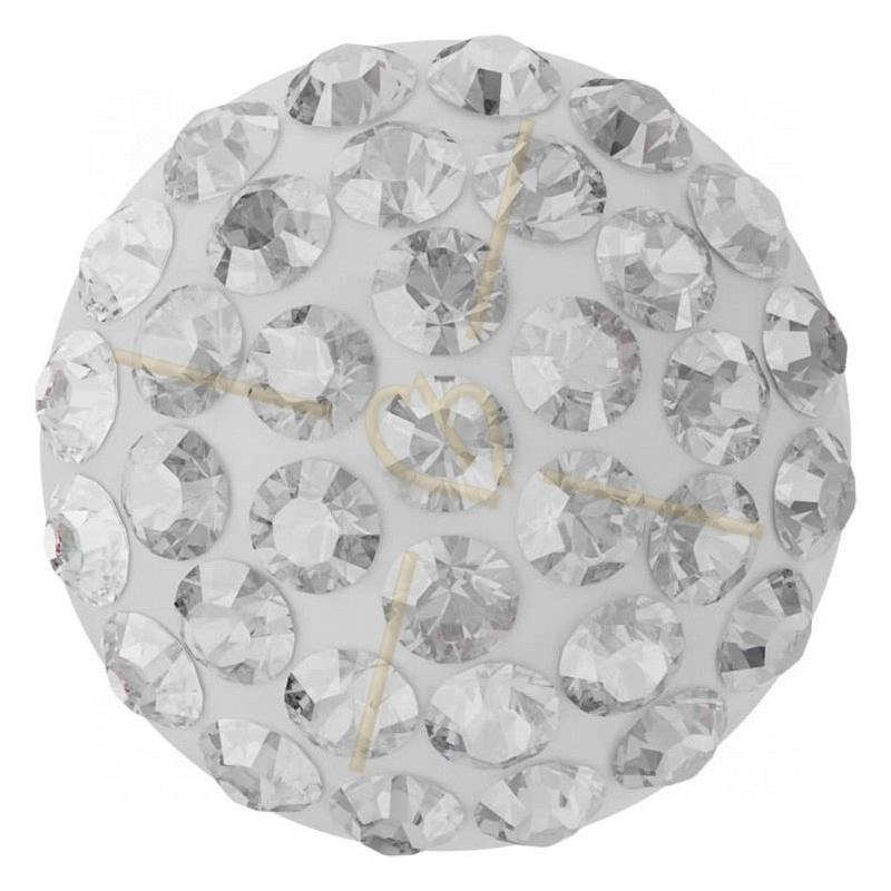 Cabochon Pavé Swarovski 12mm Crystal 86601