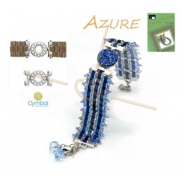 Amos par Puca® Metallic Mat Blue