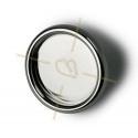 ring met boord regelbaar voor cabochon 25mm