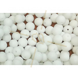 Howlite natural stone 6mm
