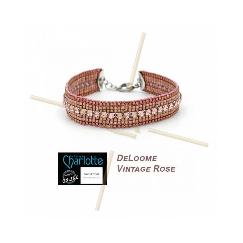 Kit armband DeLoom Vintage Rose
