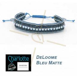 Kit armband DeLoome Bleu Matte