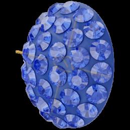 Cabochon Pavé Swarovski 12mm Majestic Blue 86601
