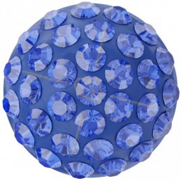 Cabochon Pavé Swarovski 8mm Majestic Blue 86601