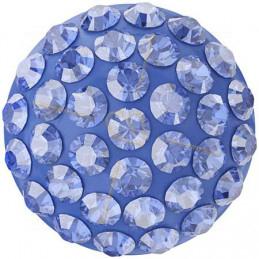Cabochon Pavé Swarovski 12mm Sapphire 86601