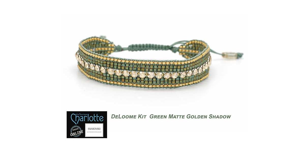 Kit bracelet DeLoome Green Matte