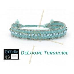 Kit armband DeLoome Turquoise