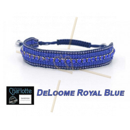 Kit armband DeLoome Royal Blue