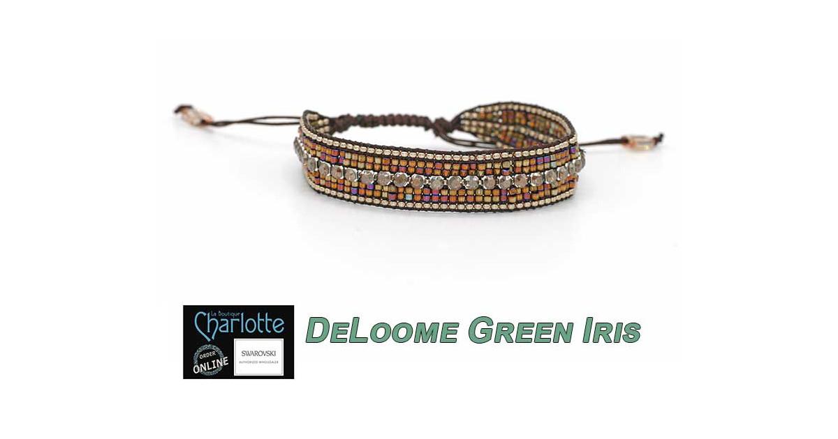Kit Bracelet DeLoome Green Iris