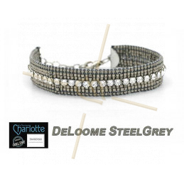 Kit armband DeLoome Steel Grey