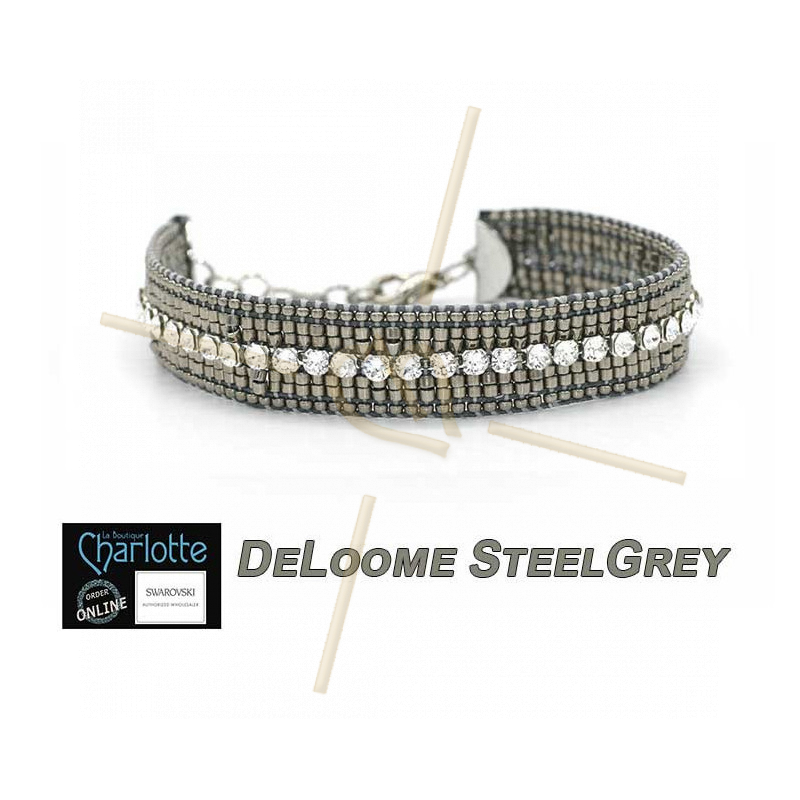 Kit Bracelet DeLoome Steel Grey
