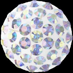 Cabochon Pavé Swarovski 12mm Crystal AB 86601