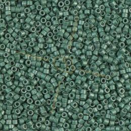 Miyuki Delica 11/0 - Galvanized Matte Dark Aqua - Db1172
