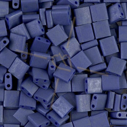 Tila bead Miyuki Cobalt Luster Matte Opaque 2075
