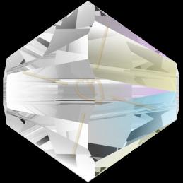 3mm Crystal Shimmer Swarovski bicone 001shim