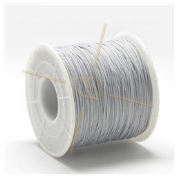 Macramé cord 0.5mm polyester Light Grey