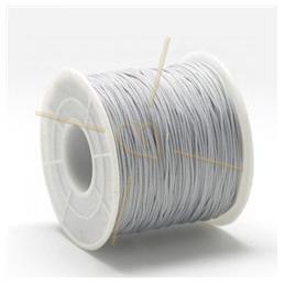 Macramé cordon 0.5mm  polyester Gris Clair