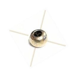 ronde strassbal 6mm Lt. Rose