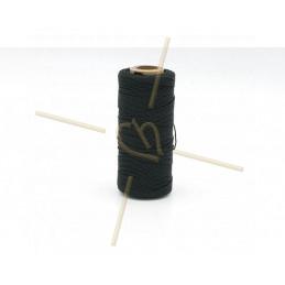 Macramé touw 0.5mm polyester Premium Quality zwart
