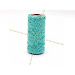 Macramé touw 0.5mm polyester Premium Quality Aquamarine