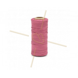 Macramé cordon 0.5mm polyester Premium Quality Fuchsia