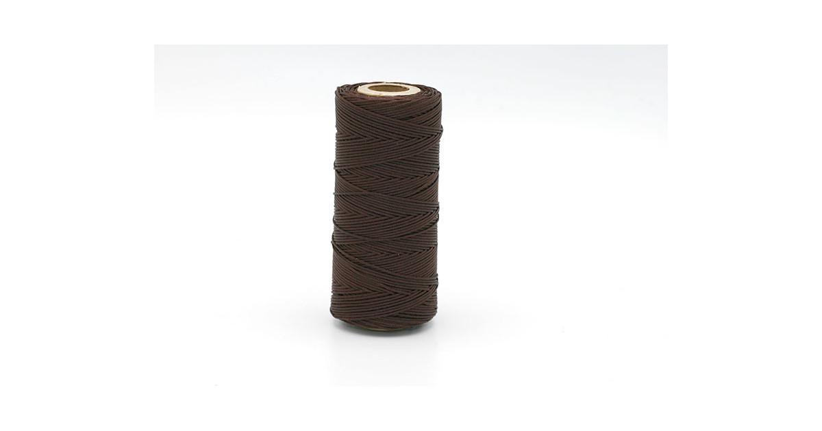 Macramé cordon 0.5mm polyester Premium Quality Brun