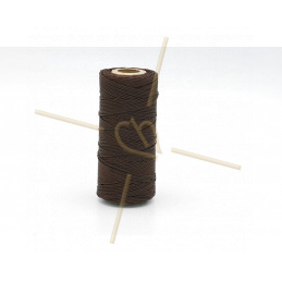 Macramé cord 0.5mm polyester Premium Quality Brown