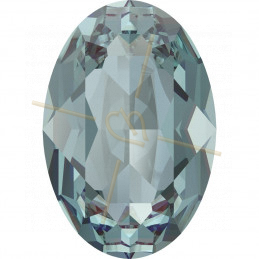 Cabochon oval Swarovski 4120 18*13mm Aquamarine Ignite 202