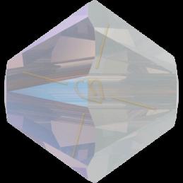Swarovski tolletje 3mm White Opal Shimmer
