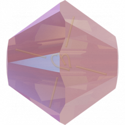 Swarovski tolletje 3mm Rose Water Opal Shimmer