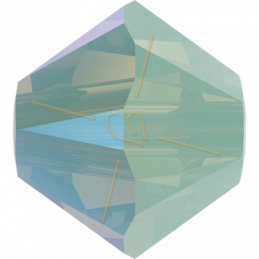 Swarovski 5328 tolletje 4mm Chrysolite Opal Shimmer