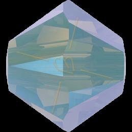 Swarovski 5328 Bicone 4mm Chrysolite Opal Shimmer2x