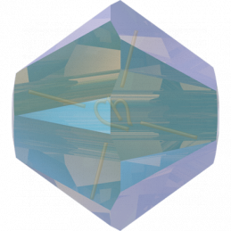Swarovski 5328 tolletje 4mm Chrysolite Opal Shimmer2X