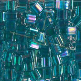 Tila bead Miyuki Teal AB Transparent TL-2458