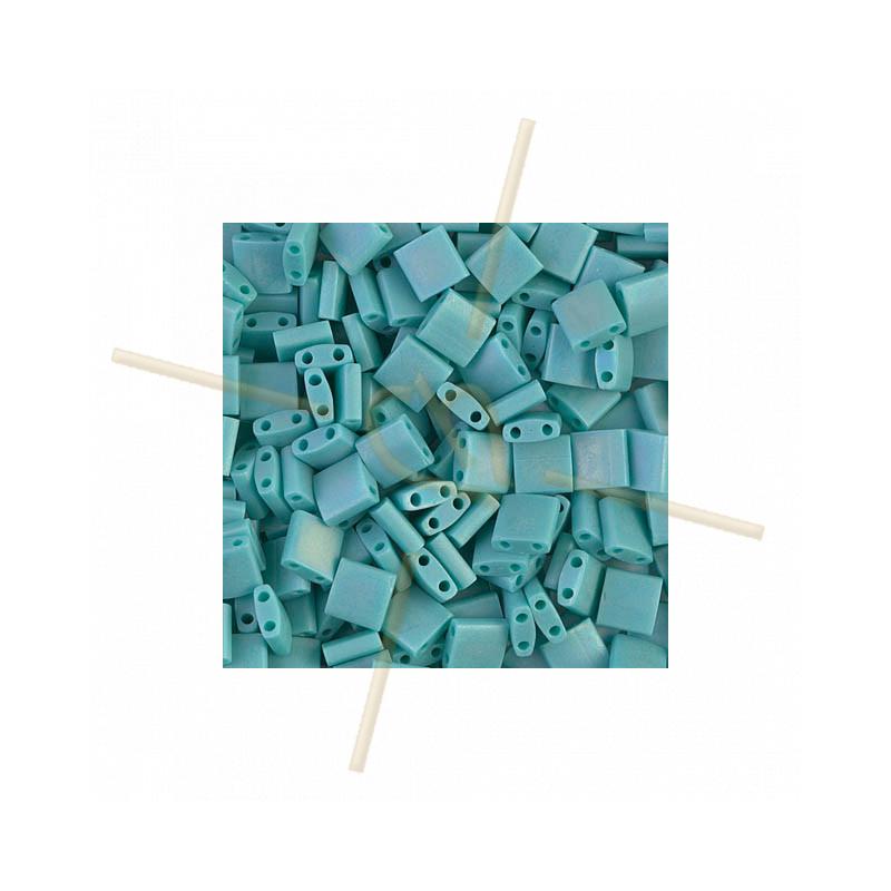 Tila bead Miyuki Turquoise AB Matte TL-412FR