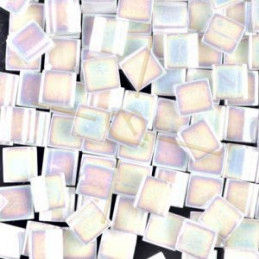 Tila bead Miyuki Pearl White Opaque AB TL-471