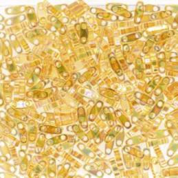 Miyuki Quarter Tila Transparant Opaque Teal AB QTL-251