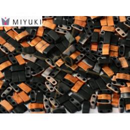 Half Tila Miyuki 5*2mm Black Sunset Matted HTL-4562