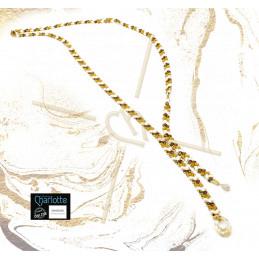 Necklace long with Miyuki...