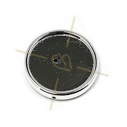 ronde strassbal 10mm rose