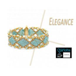 Kit Bracelet Elegance Turqoise Gold