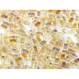 Half Tila Miyuki 5*2mm Cristal Lemon Rainbow HTL-55021