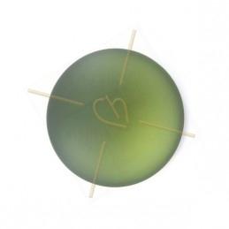ronde strassbal 12mm amethist