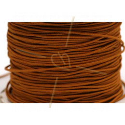 Elastic cord for hygienic masks 1.3mm Cognac