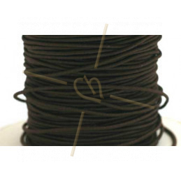 Elastic cord for hygienic masks 1.3mm Brown